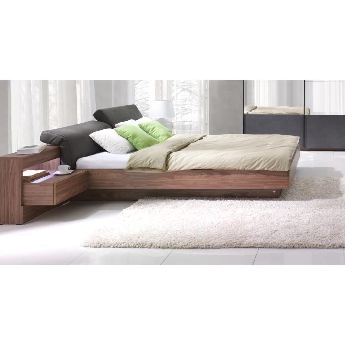 sommier 160x200 led achat vente pas cher. Black Bedroom Furniture Sets. Home Design Ideas