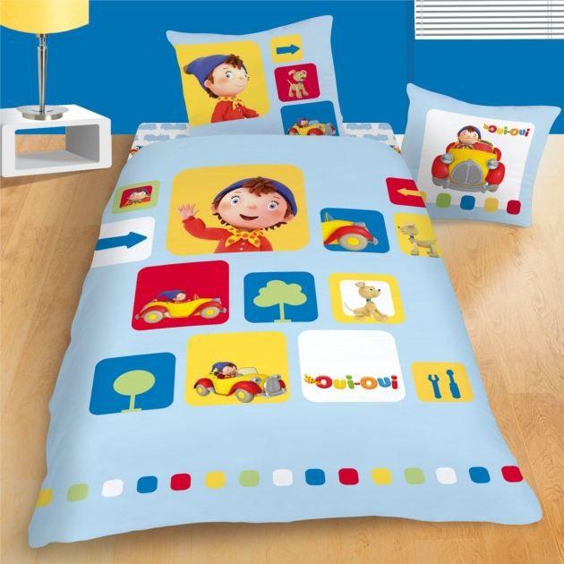 oui oui parure de lit housse de couette 1 achat vente parure de couette cdiscount. Black Bedroom Furniture Sets. Home Design Ideas