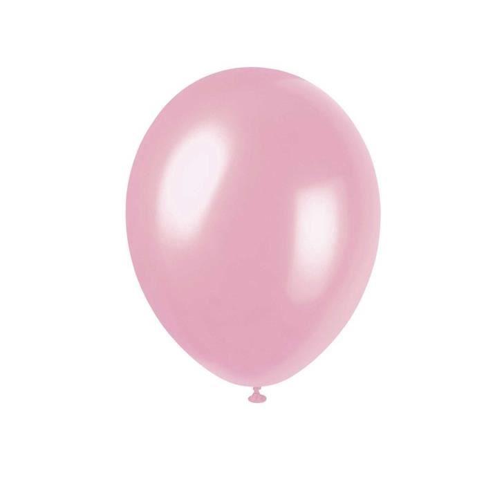 50 Pcs 12 Ballons En Latex Rose Clair Couleur Anniversaire De Célébrations De Mariage