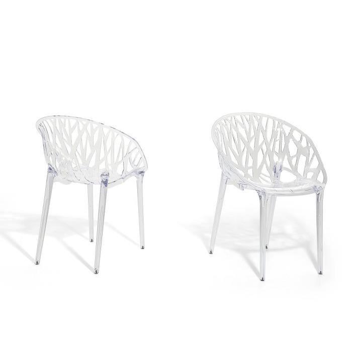 Incroyable Chaise De Salle à Manger   Chaise En Plastique Transparent   Discovery.