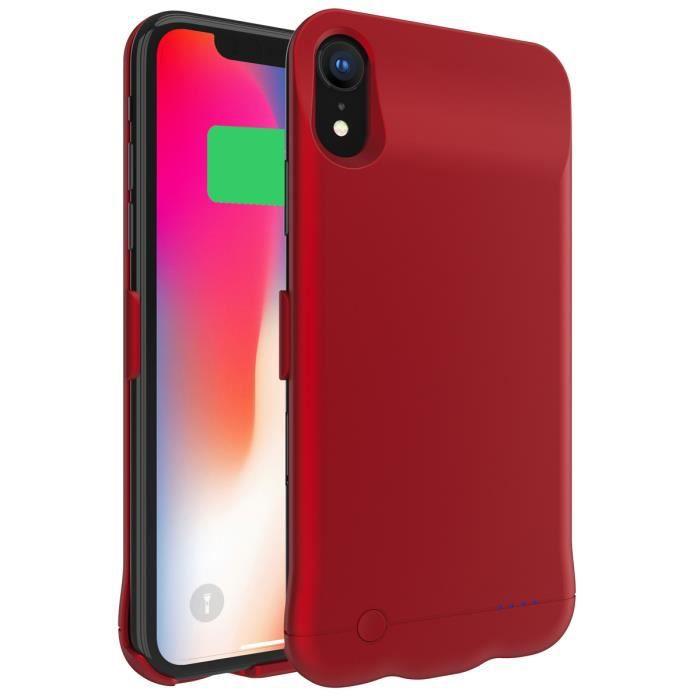 coque iphone xr avec baterie