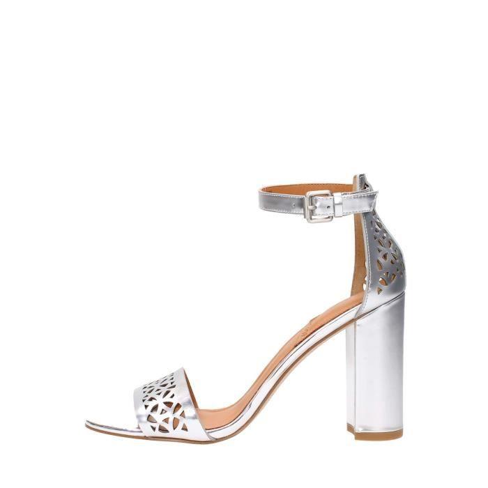 What For Sandal Femme Silver