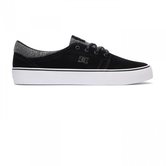 Chaussures Trase Leather Black Armor - DC Shoes C78AJgP6o