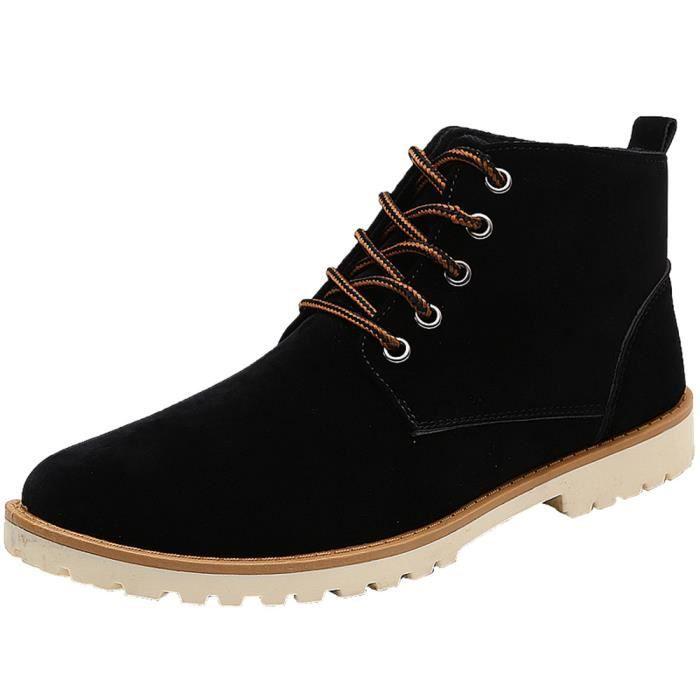 Bottine Homme Qualité Supérieure Durable Chaussure Extravagant Confortable Respirant Bottines Classique Plus De Couleur Léger 39-44 PIyFw