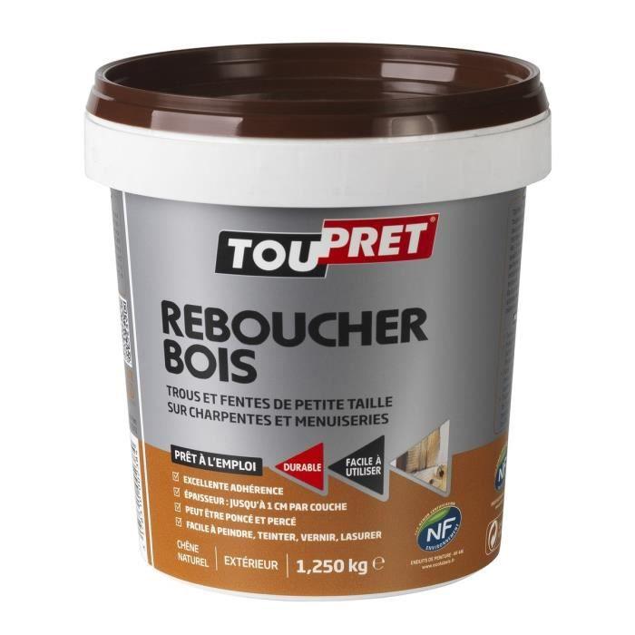 SOUS COUCHE   ENDUIT TOUPRET Enduit De Rebouchage Bois Pâte 1,25 Kg Images