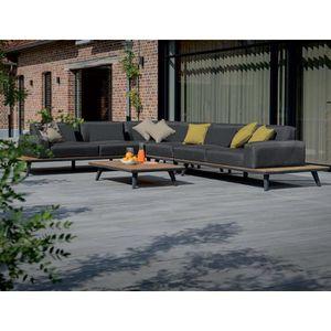Salon de jardin aluminium Gecko jardin - Achat / Vente Salon de ...