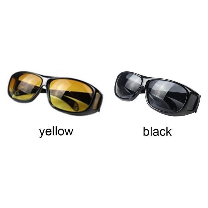 soleil noir de HD hommes unisexe récent de lunettes vision Lentilles Femmes polarisées nocturne 2017 XqITFw77x