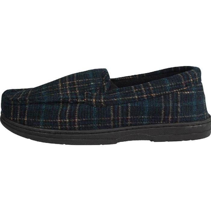 Perry Ellis Twin-stretch Slippers JFDW0 Taille-L