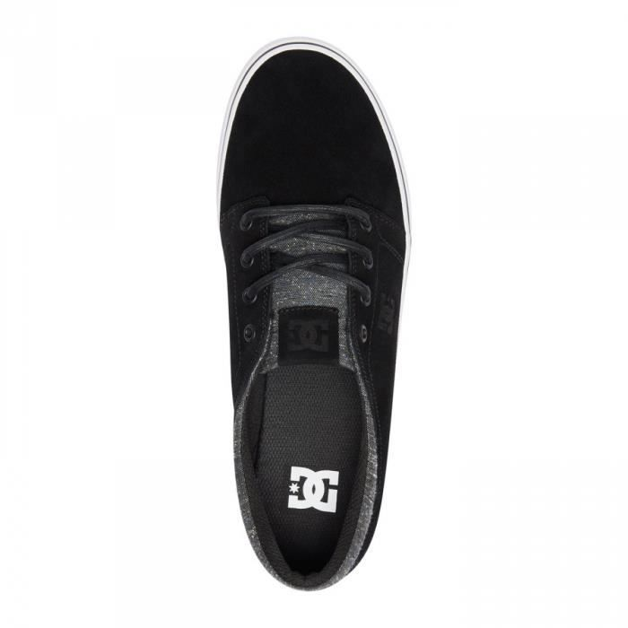 Shoes Trase Chaussures DC Armor Leather Black dXdZqUfw