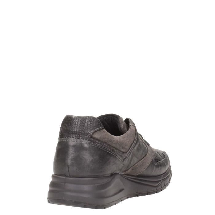 Igi&co Sneakers Homme Anthracite / Noir, 43