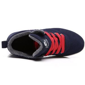 Causal Winter Snow Boots Skate Shoes With Velvet CI7ZN Taille-39 qM1lx