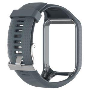 BRACELET DE MONTRE Gris Bracelet de rechange pour TomTom Spark Spark
