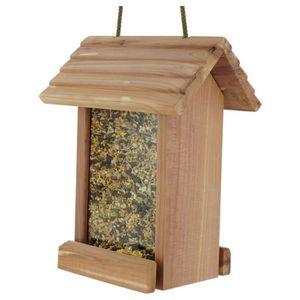 MANGEOIRE - TRÉMIE Nature Marke - Mangeoire Cedar Deli pour Oiseaux d