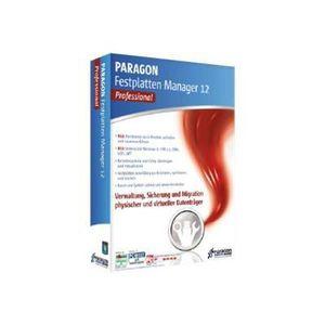 BUREAUTIQUE PARAGON FESTPLATTEN MANAGER 12 PROFESSIONAL PAR...