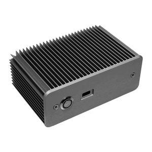 BOITIER PC  Impactics D2NU1-USB-S - Format ultra petit - argen