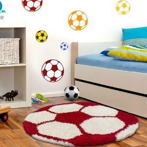 TAPIS Tapis pour enfants Hochflor Soccer Basketball Desi