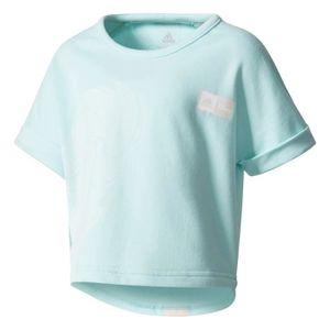 official photos 68ef4 c5002 MAILLOT DE RUNNING T-shirt junior adidas Disney Frozen Cropped