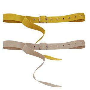 9f7ea4b36c4f4 CEINTURE ET BOUCLE ceinture cinch taille large en velours pour femmes ...