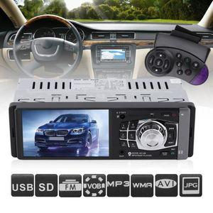 TRANSMETTEUR FM mp3 Bluetooth FM voiture + caméra arrière 1 Din 4,