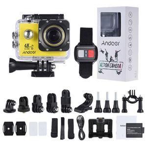 CAMÉRA SPORT Andoer AN4000 4K Caméra Action 30fps 16MP WiFi 108