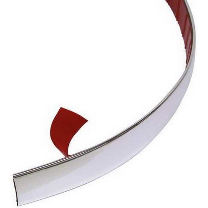 CARPOINT 2218523 Moulure de décoration universelle - 22 mm x 2 m - Chrome