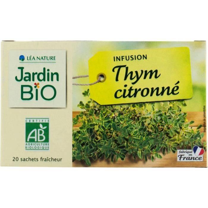 Infusion Thym citronné Bio - 30g