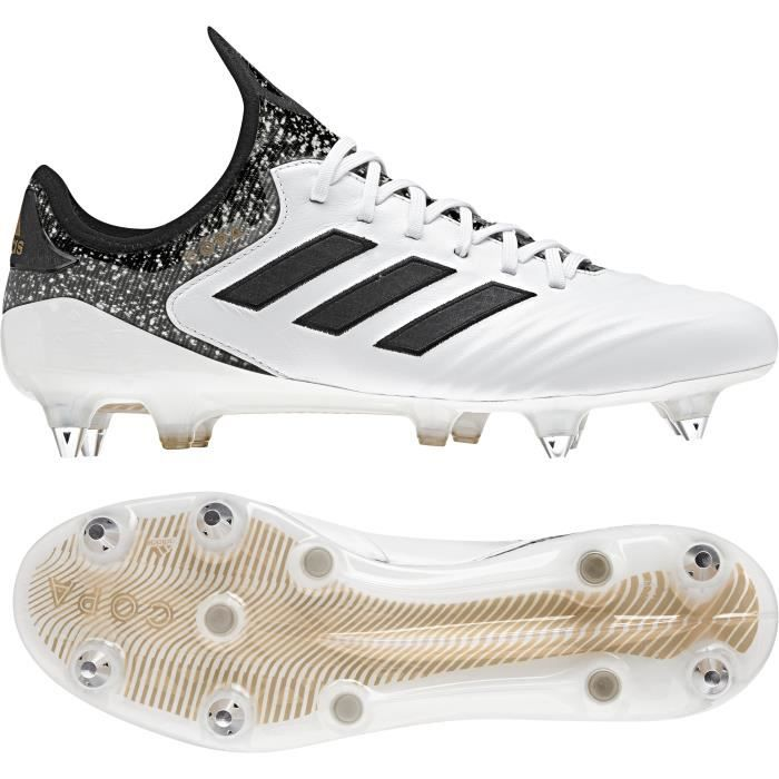 competitive price a254b 30ad4 Chaussures de football adidas Copa 18.1 SG - blancnoirgris - 42
