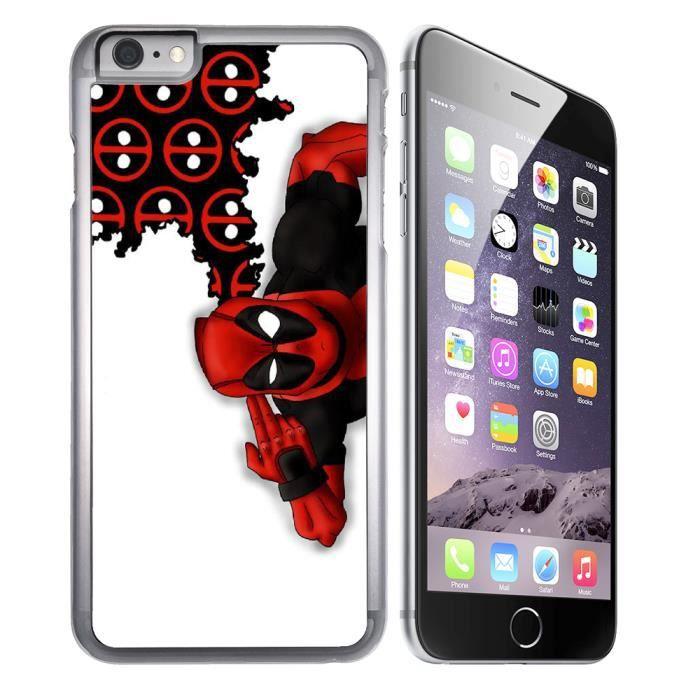 coque iphone 8 plus deadpool