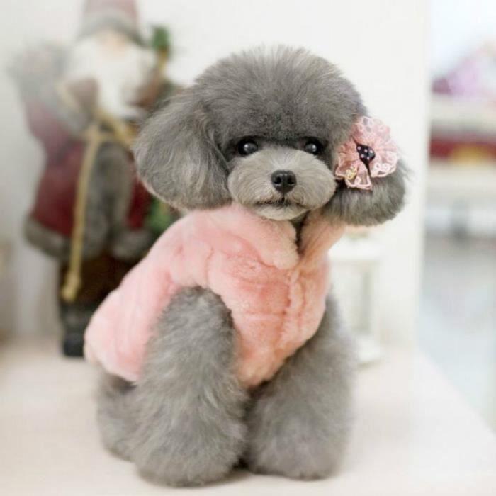 manteau mixte beige xl pour chien caniche yorkshire chihuahua ropa para perros chien chien de de. Black Bedroom Furniture Sets. Home Design Ideas
