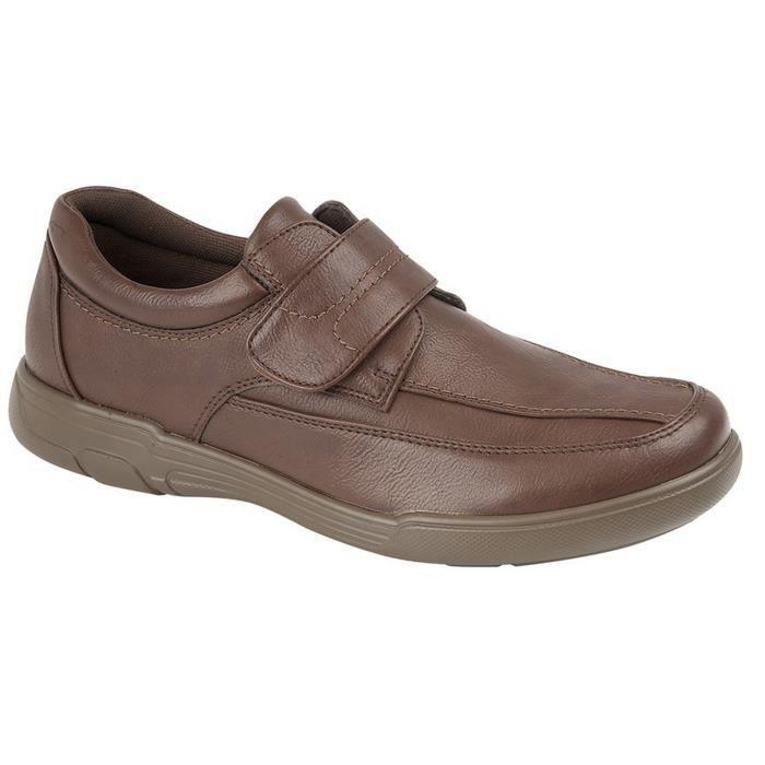 Scimitar À Chaussures Fermeture Hommemarron Scratch Foncé Décontractées EIW9D2H