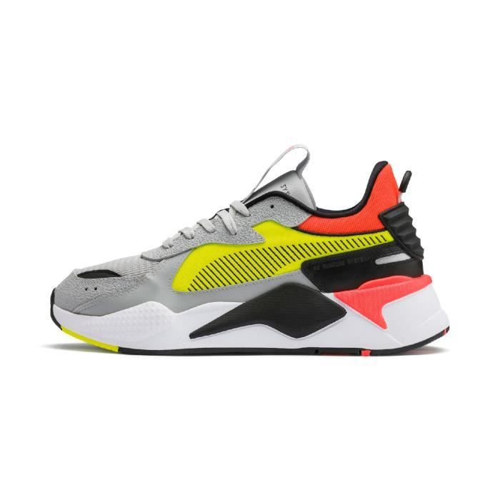 basket puma semelle marron