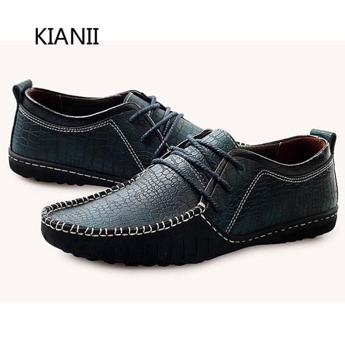 Loisirs Derby Chaussures Flats Driving Hommes