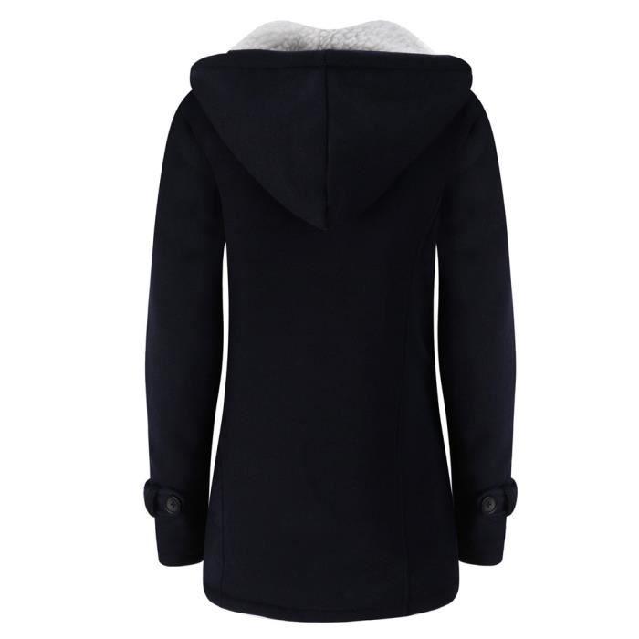 Coupe Slim Gardez Veste Long Femmes Chaud vent Les Laine Outwear Manteau Trench Rw8420 gp5wUI