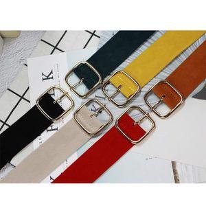 0fbbc5c184562 ... CEINTURE ET BOUCLE ceinture cinch taille large en velours pour femmes.  ‹›