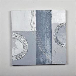 TABLEAU - TOILE Tableau déco Modern  27 -  Toile peinte à la main