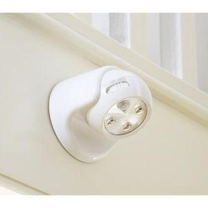 lampe detecteur mouvement avec pile achat vente pas cher. Black Bedroom Furniture Sets. Home Design Ideas