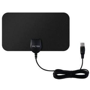 ANTENNE RATEAU Antenne TNT Intérieur HD Puissante ultra fine   25