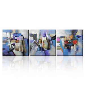 TABLEAU - TOILE AONBAT peinture à l'huile Peint à la main Composit