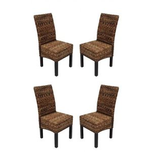 chaise rotin achat vente chaise rotin pas cher cdiscount. Black Bedroom Furniture Sets. Home Design Ideas