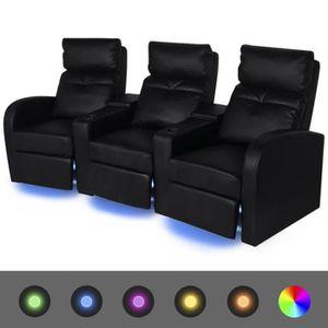 fauteuil home cinema achat vente pas cher. Black Bedroom Furniture Sets. Home Design Ideas