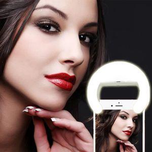 FLASH Mini Flash Lumière Selfie Anneau 27LED USB Recharg