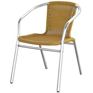 Chaises fils plastique - Achat / Vente pas cher