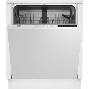 LAVE-VAISSELLE BEKO - LVI72F -Lave-vaisselle encastrable - 13 cou