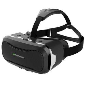 CASQUE RÉALITÉ VIRTUELLE Shinecon 2.0 VR Pro Version Réalité Virtuelle 3D L