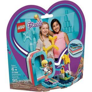 ASSEMBLAGE CONSTRUCTION LEGO® Friends 41386 La boîte cœur d'été de Stéphan