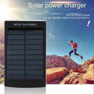 CHARGEUR - ADAPTATEUR  Chargeur solaire polycristallin Double usb  Batter