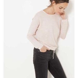Pull rose femme - Achat   Vente Pull rose Femme pas cher - Soldes ... 81bc051f93a9