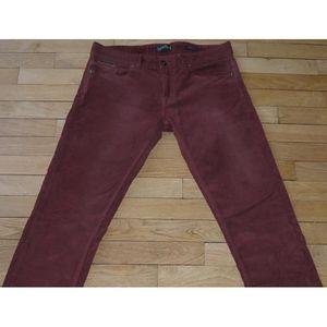 7bafcadbf ZARA Pantalon velours Homme W 31 - L 32 Taille Fr 40 Slim fit(Réf ...