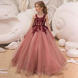 5cd19cb4c0f ROBE DE MARIÉE 2019 filles robe de soirée en dentelle jupe robe d