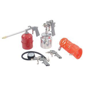 COMPRESSEUR Coffret 5 accessoires pour outils pneumatiques 5 p